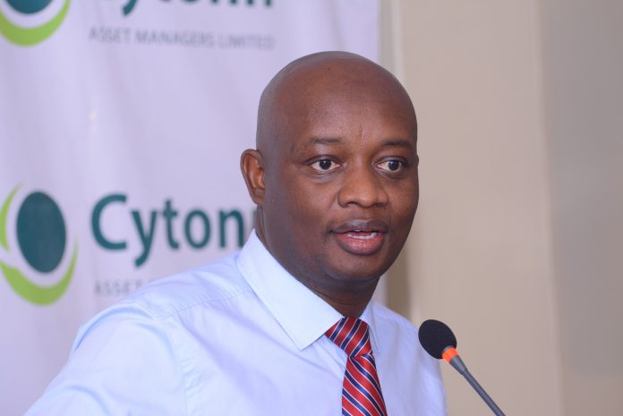 Cytonn Investments CEO Edwin Dande at The Alma unveiling