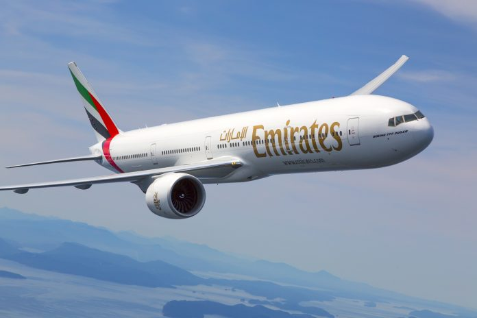An Emirates Airliner
