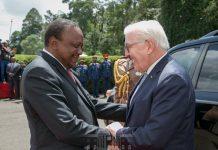 Kenya Germany Presidents