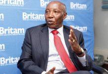 Outgoing Britam MD Benson Wairegi