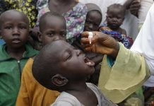 Wild polio eradicated in Africa