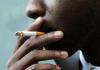 A cigarette smoker