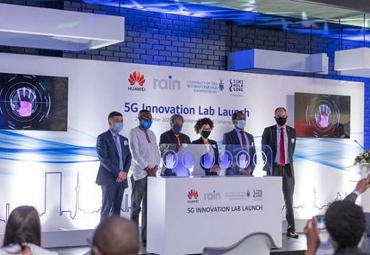 Huawei 5G Lab South Africa launch