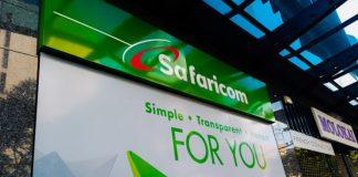 A Safaricom store