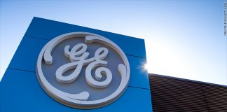 The GE logo