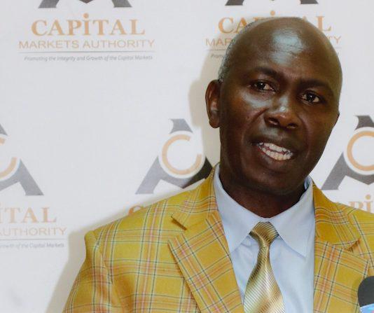 CMA CEO Wycliffe Shamiah