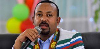 Ethiopia Prime Minister Abiy Ahmed.
